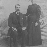 Gurine og Abraham G. Sjølyst