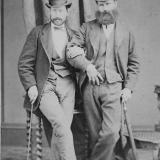 Gunleik Johnsen og Abraham Thomassen