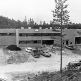 Byggingen av kakefabrikken på Fikkjebakke