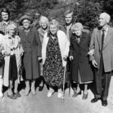 Pensjonister ved Sannidal aldershjem