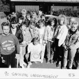 Klasse 9 c på Sannidal ungdomsskole 1987
