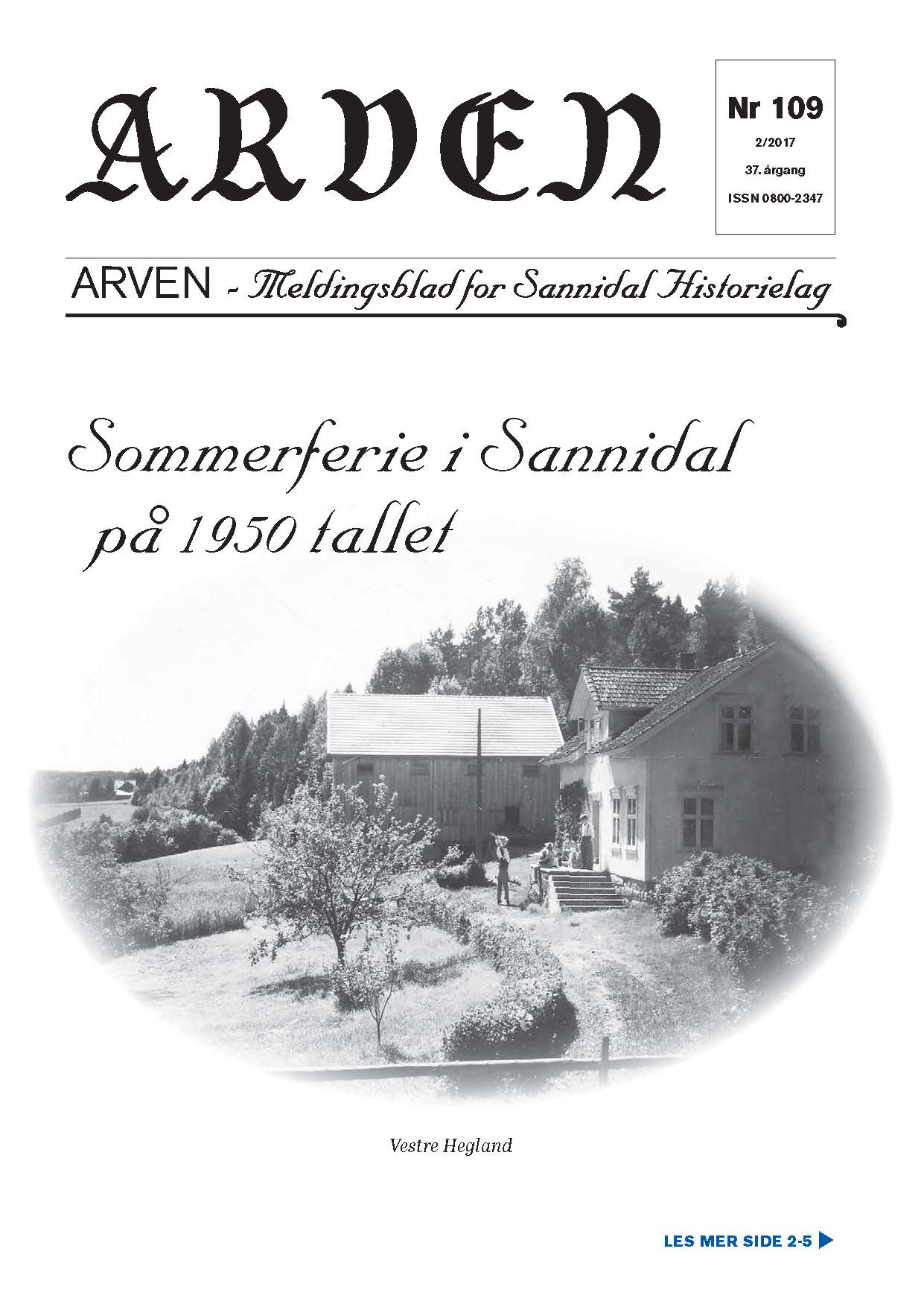 Arven nr. 109 publisert